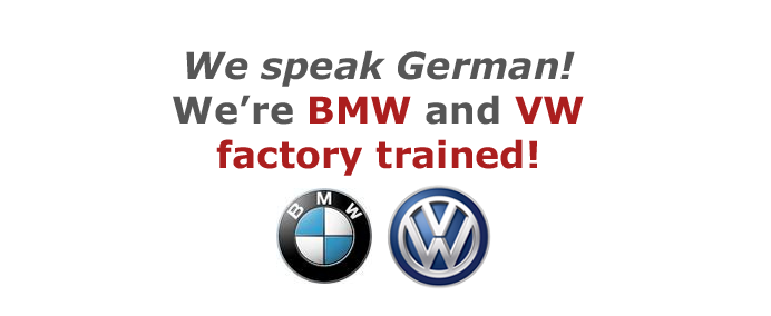 Precision Auto Works of LIC is BMW and VW factory trained Certified Collision Body Shop in NYC