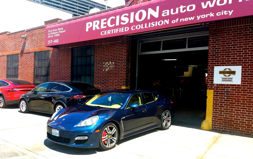 Precision auto works collision auto body mechanical repair precision auto works of lic specializing in high end auto body and mechanical repair for aluminum solutioingenieria Gallery