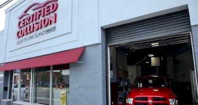 Certified Collision of Long Island, in Freeport, NY is a certified Tesla approved collision body shop.
