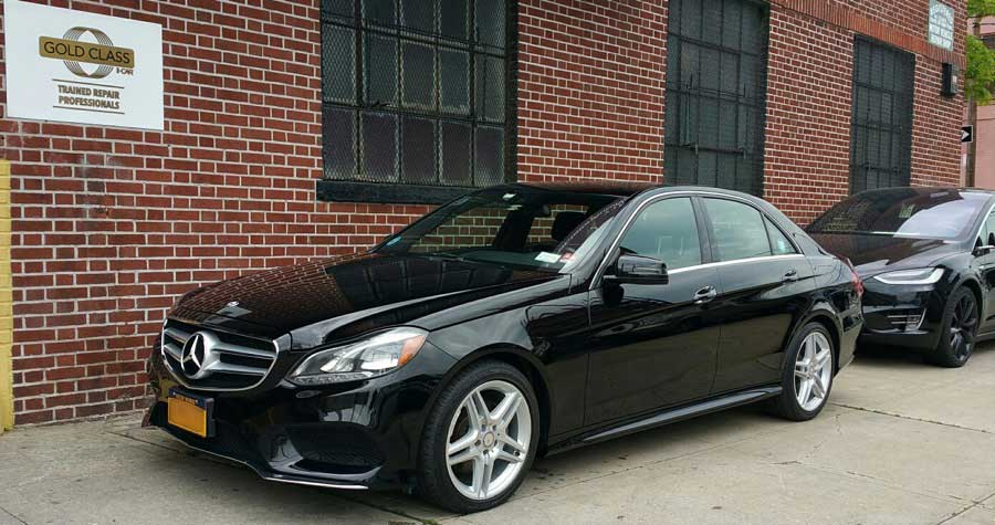 Mercedes benz collision experts precision auto works of for Mercedes benz auto body shop