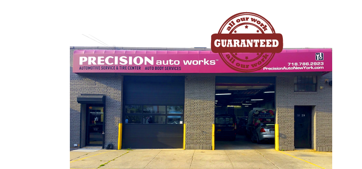 Precision Auto Works of LIC guarantees all our mechanical automotive repairs.