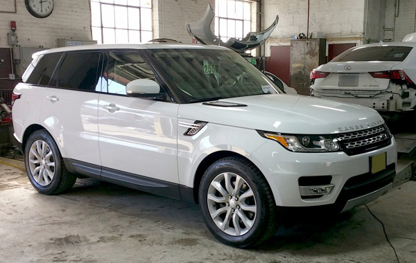 Precision Auto Works is NYC's Range Rover Auto Body Shop